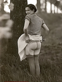 Vintage Black And White Pics