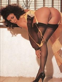 Vintage Stocking Pics